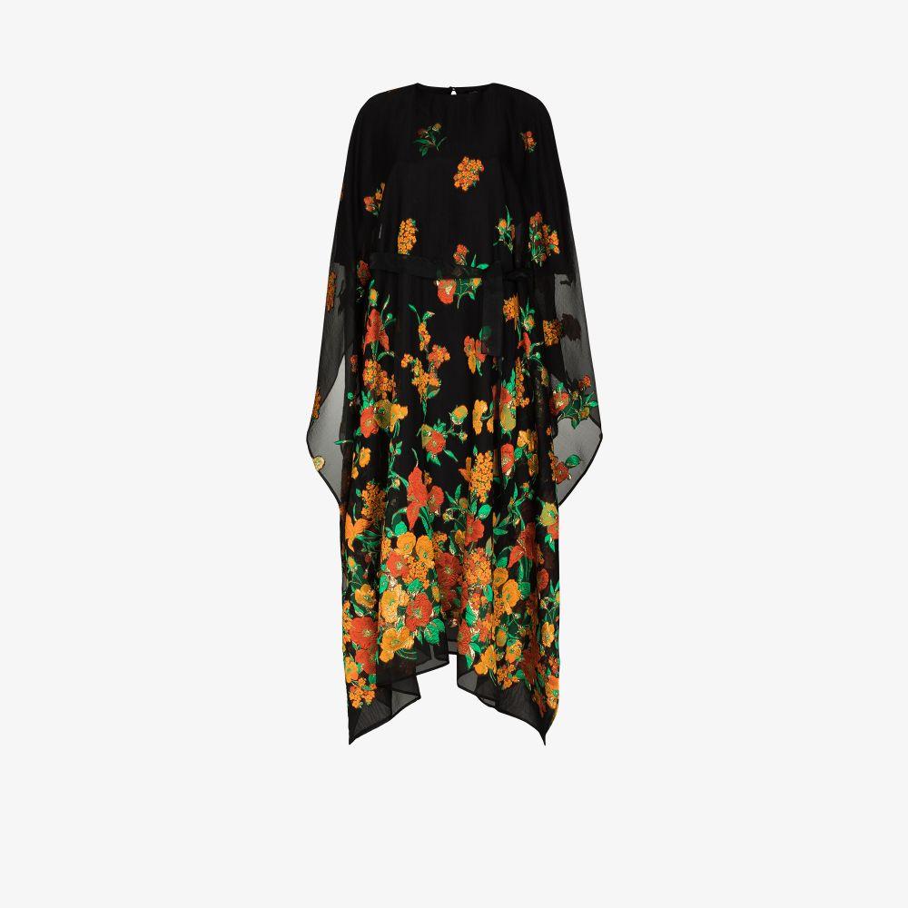 Taller Marmo Midi dresses GIARDINO JACQUARD KAFTAN DRESS