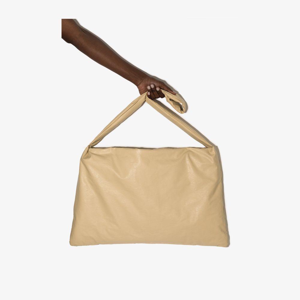 Neutral Oil Small Square Shoulder Bag