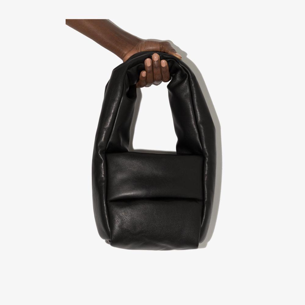 Black Monk Small Leather Shoulder Bag