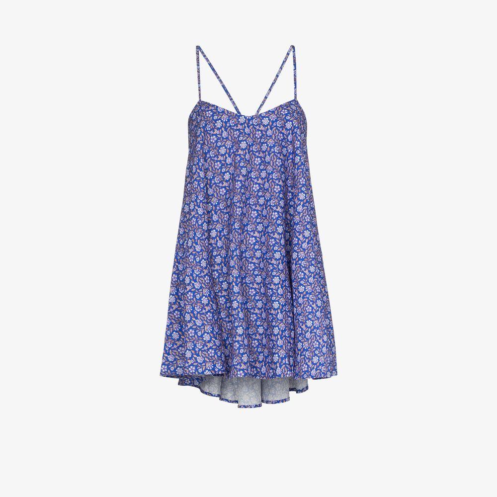 Polyxena Floral Print Mini Dress