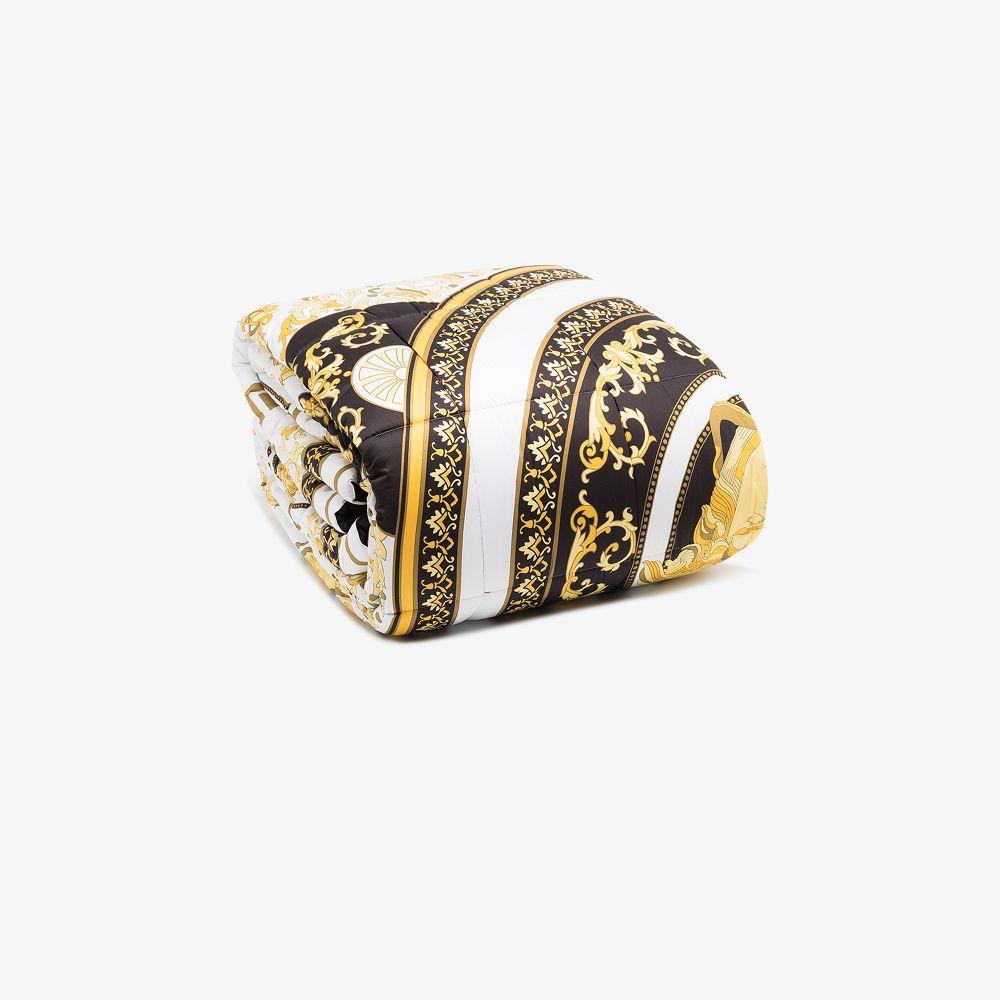 Versace Blankets MULTICOLOURED BAROQUE COMFORTER BLANKET
