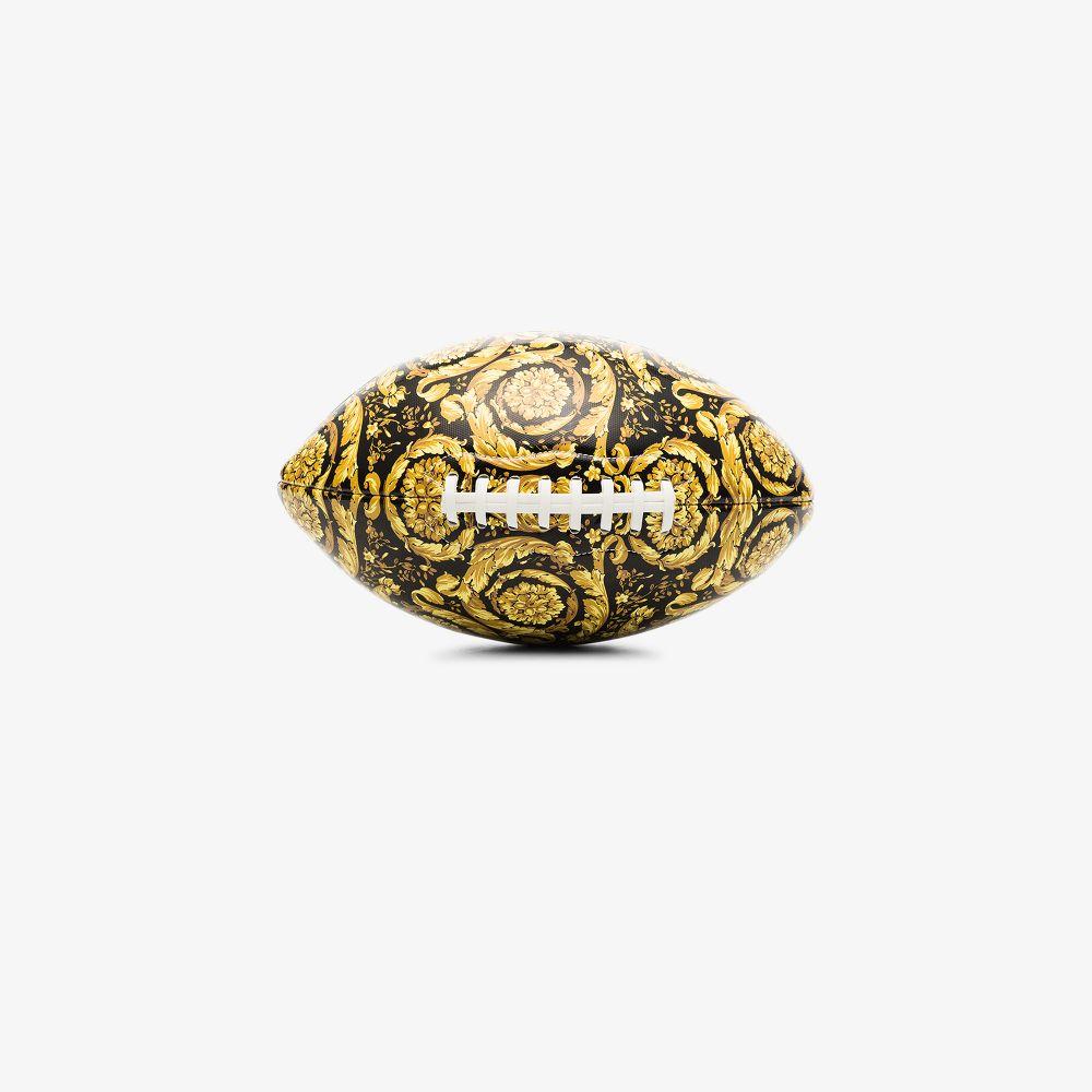 Versace MULTICOLOURED BAROQUE PRINT AMERICAN FOOTBALL
