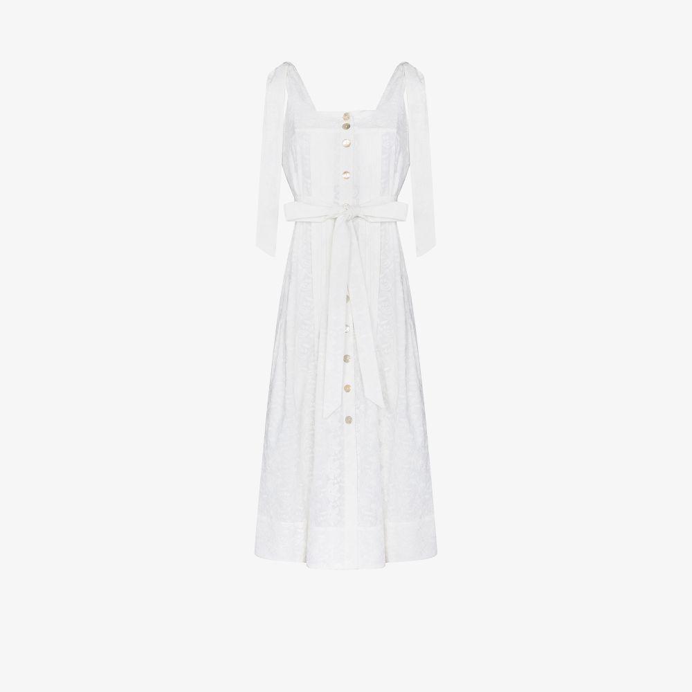 Look 17 Tie Strap Midi Dress