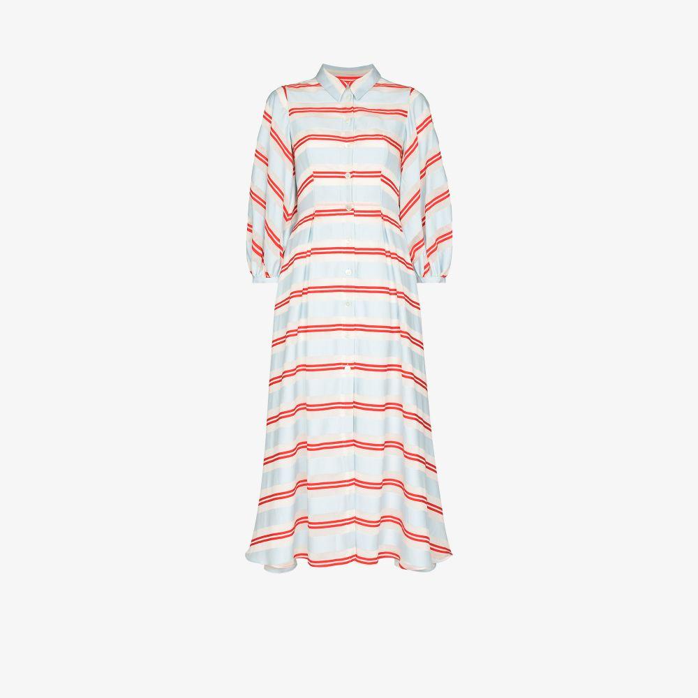 Eve Striped Shirt Dress
