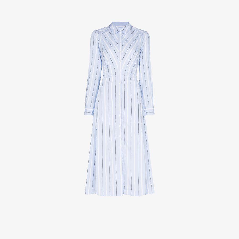Look 7 Striped Shirt Dress