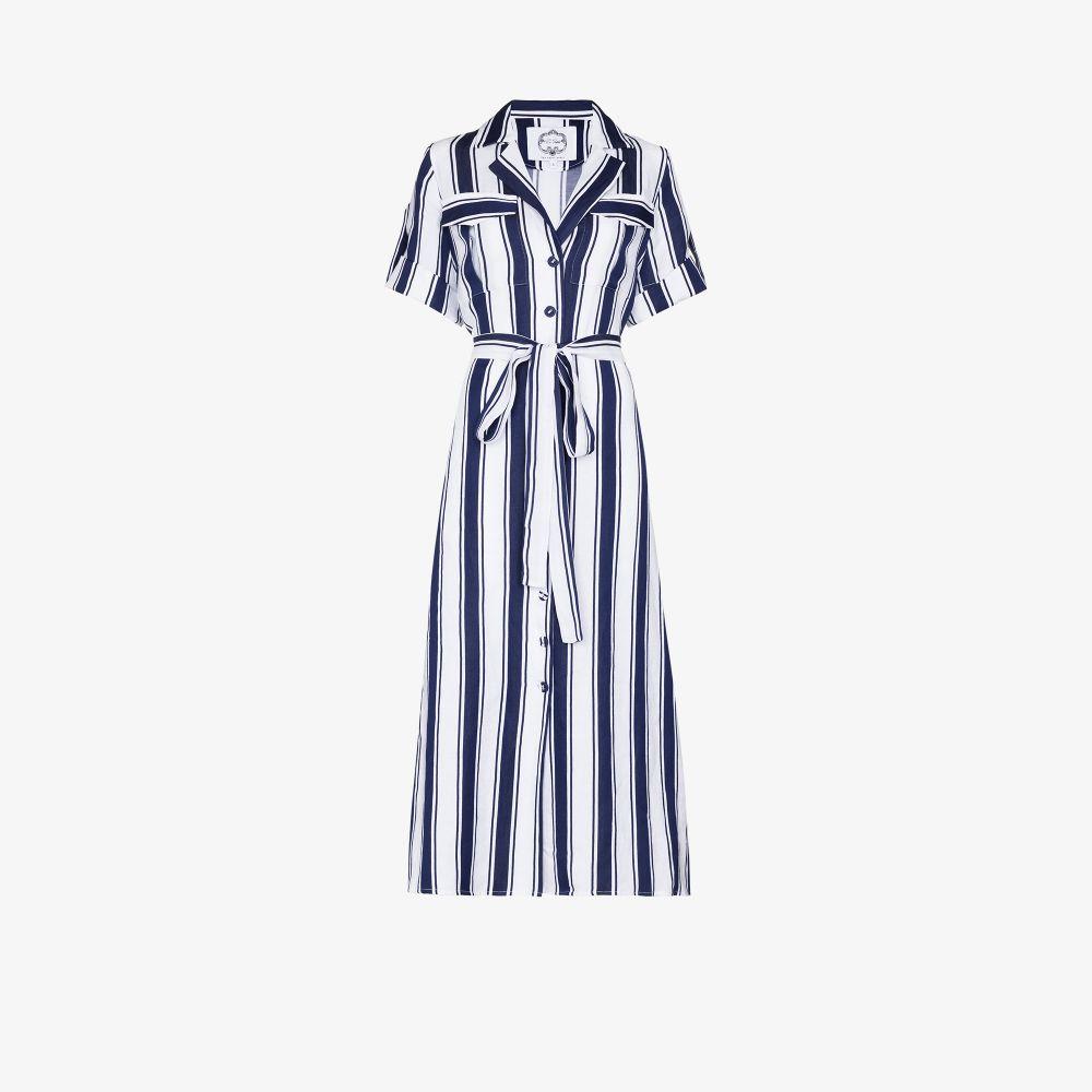 Look 1 Striped Shirt Dress