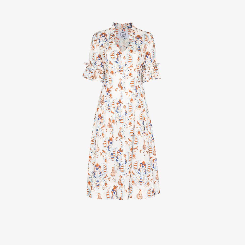Look 21 Printed Midi Dress
