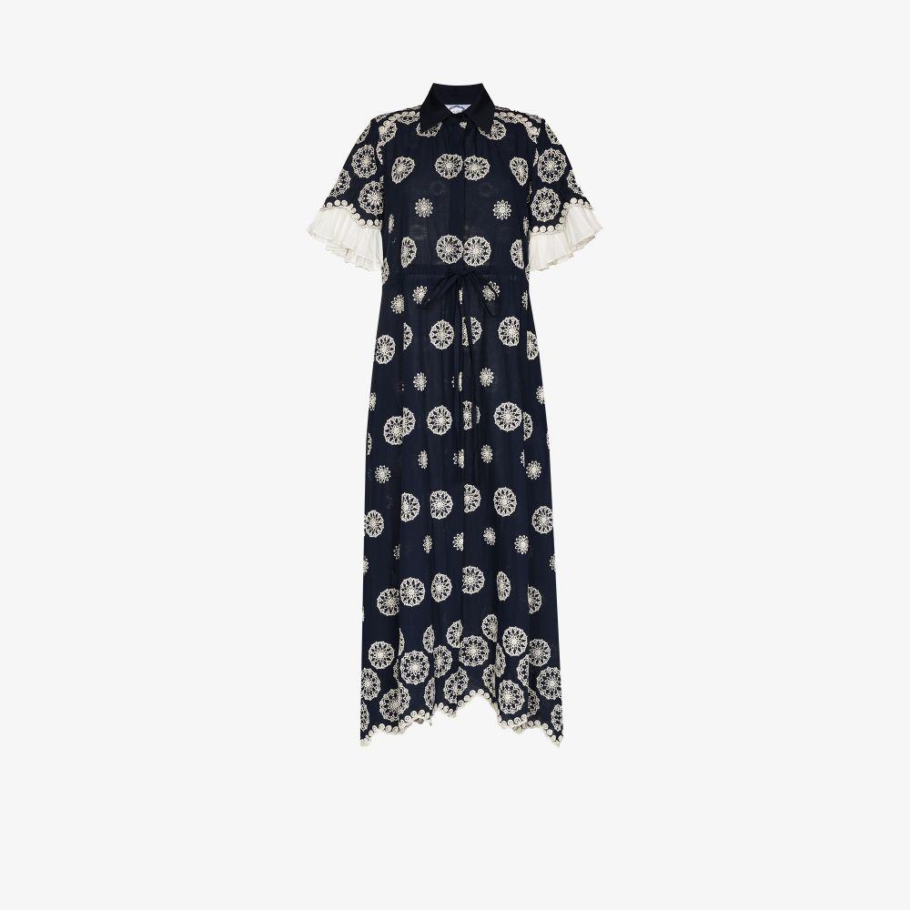 Look 16 Printed Cotton Maxi Dress
