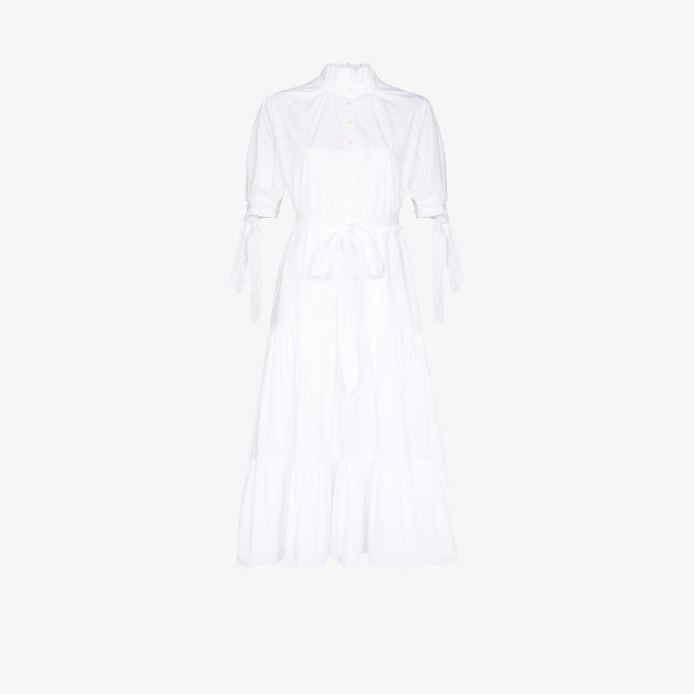Look 32 Belted Shirt Dress