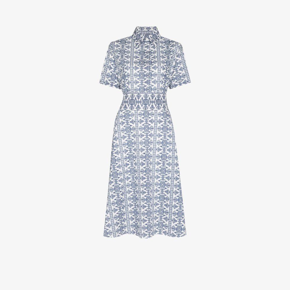 Look 25 Printed Midi Dress