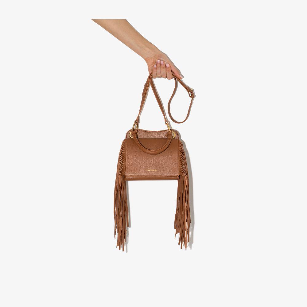 See By Chloé BROWN TILDA LEATHER TOP HANDLE BAG