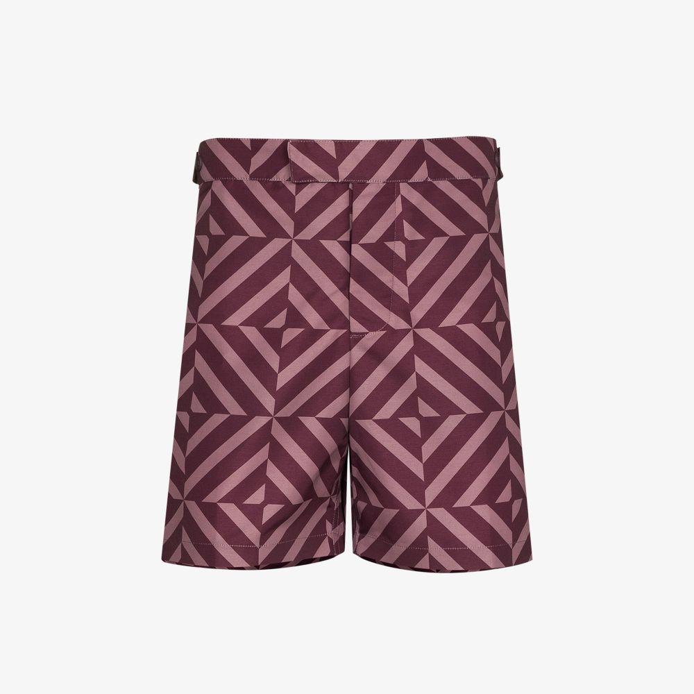 Angra Tile Print Swim Shorts