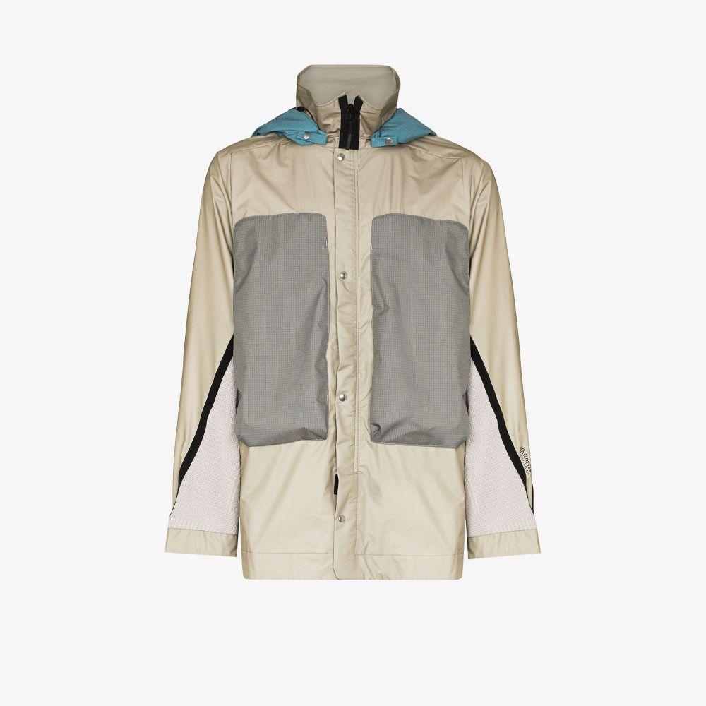 Neutral Hooded Field Jacket