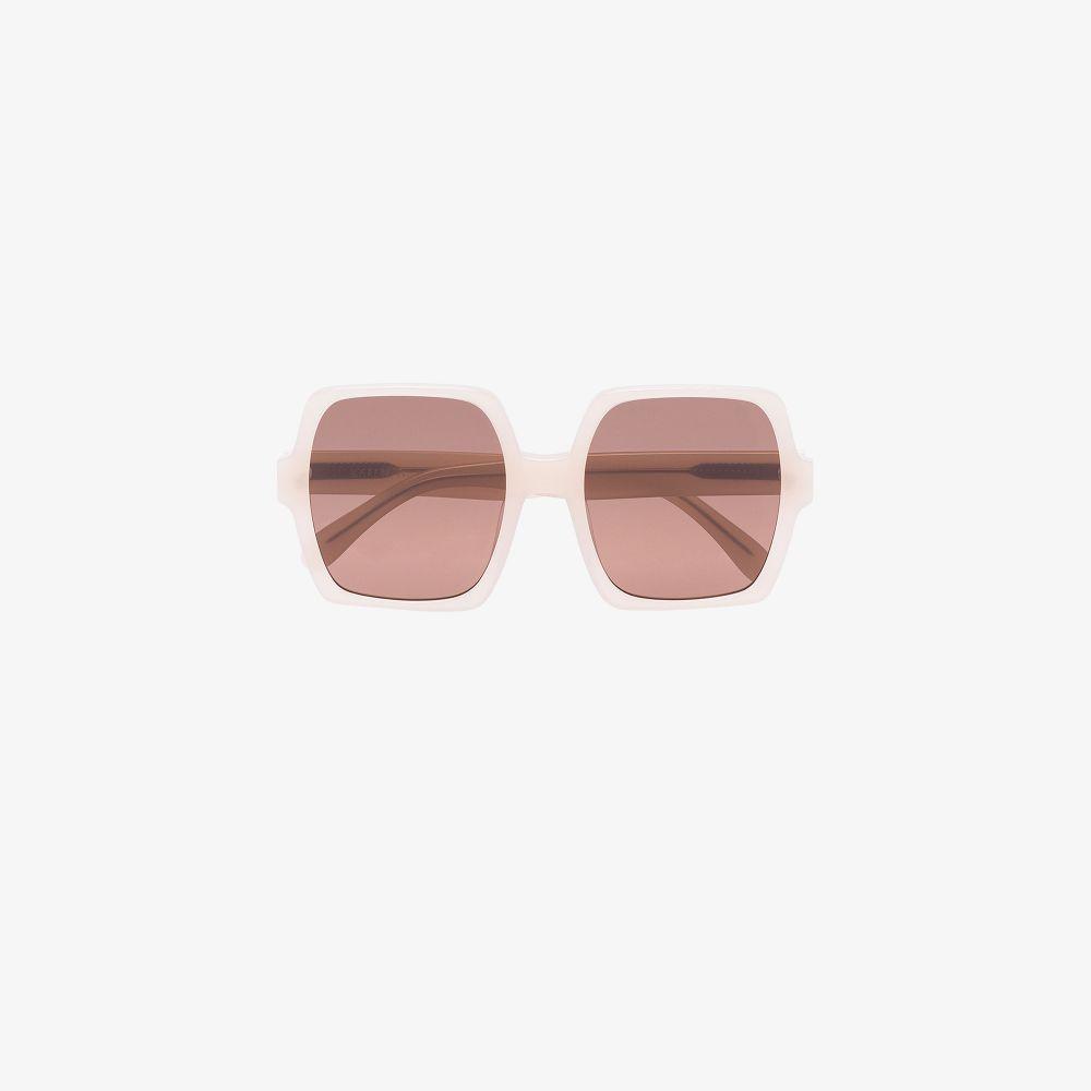 Neutral Kaia Oversized Sunglasses