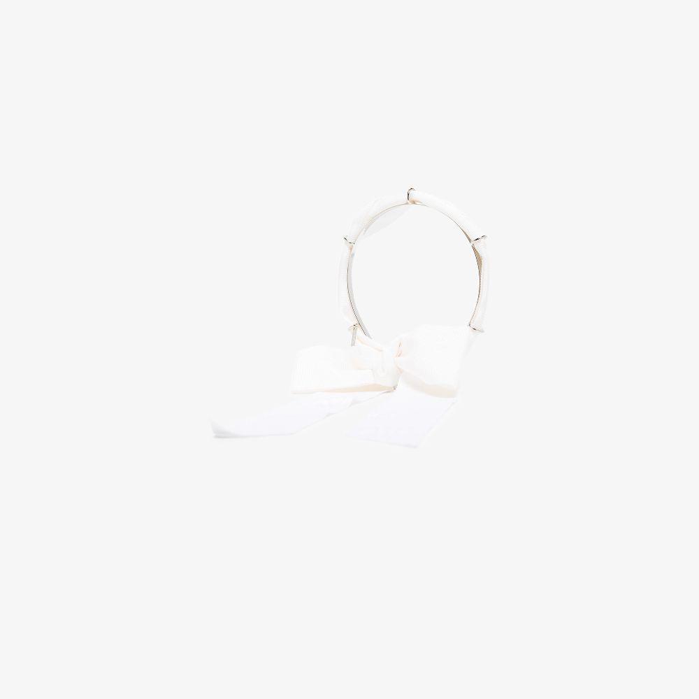 White Amelia Headband