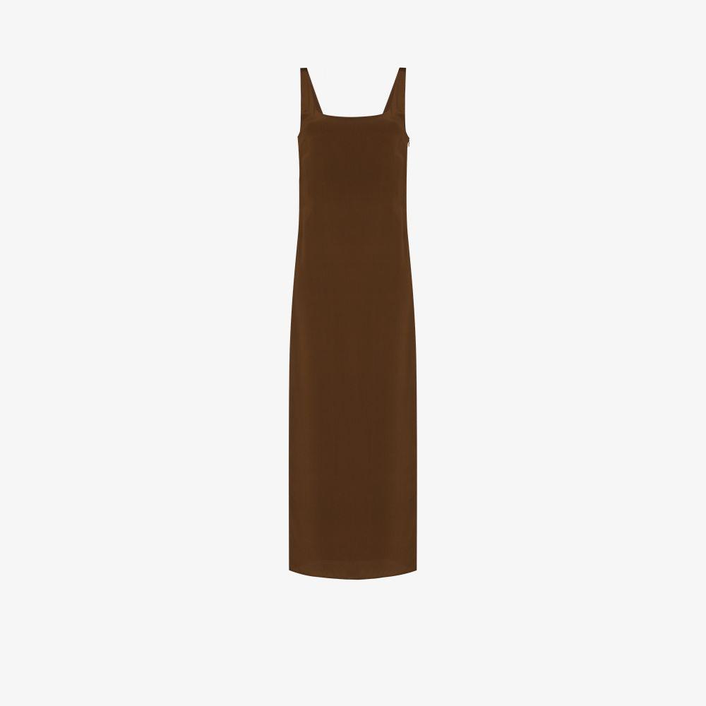 The Tank Slip Silk Dress