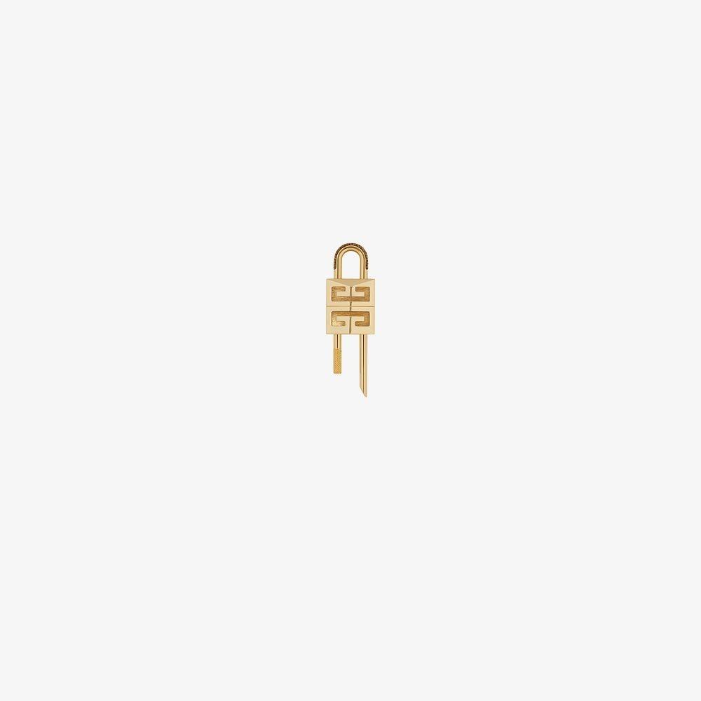 Givenchy GOLD TONE 4G LOGO PADLOCK