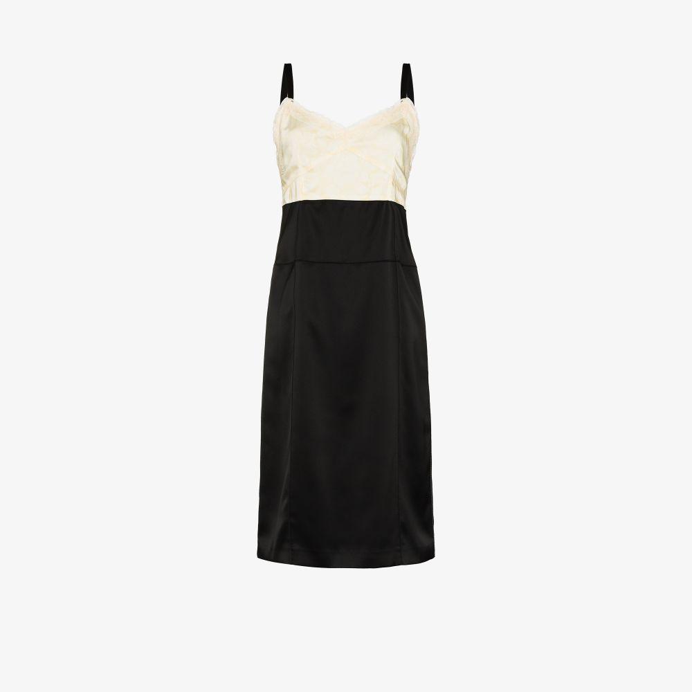 X Browns Focus Colour Block Midi Dress