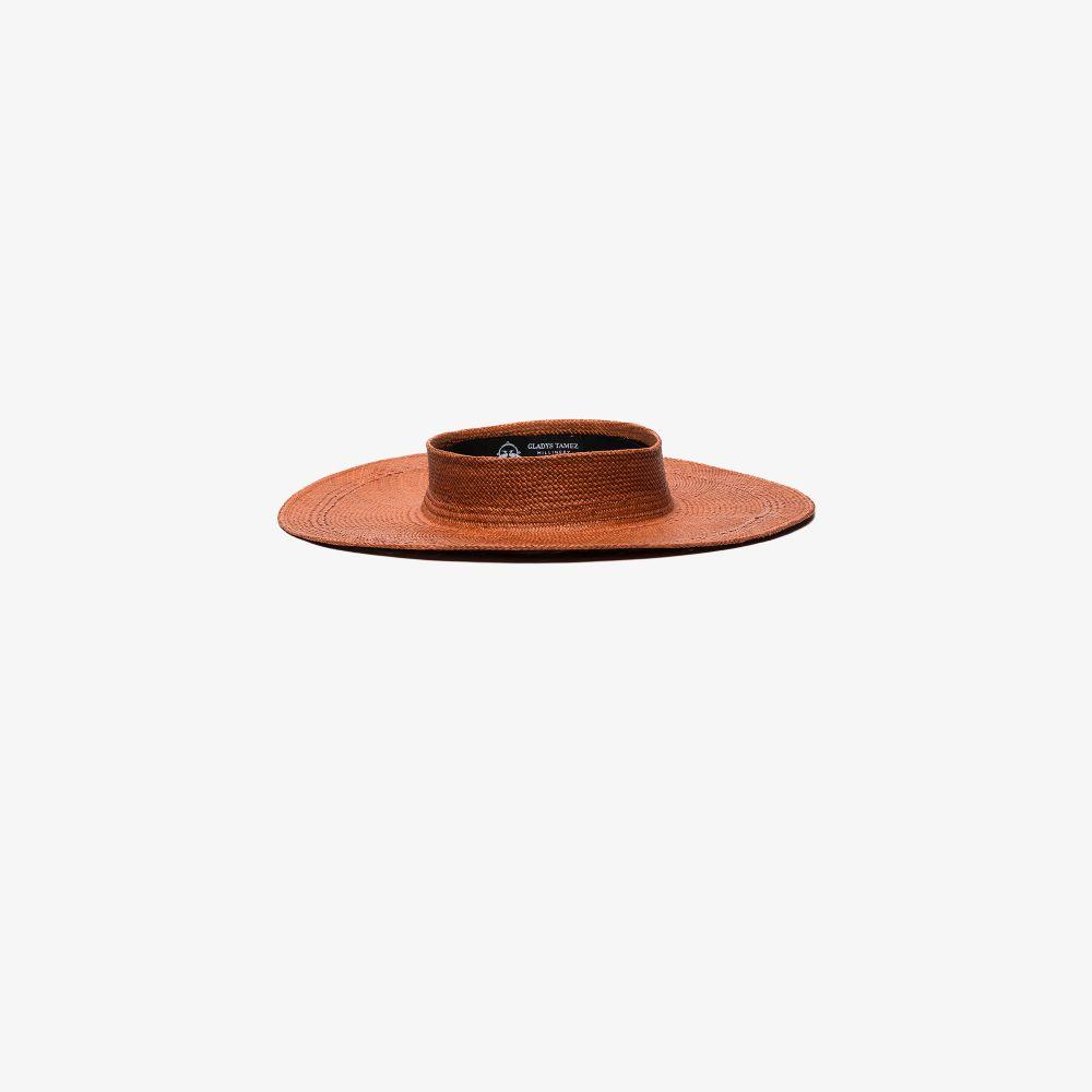 Neutral Beverly Straw Panama Hat