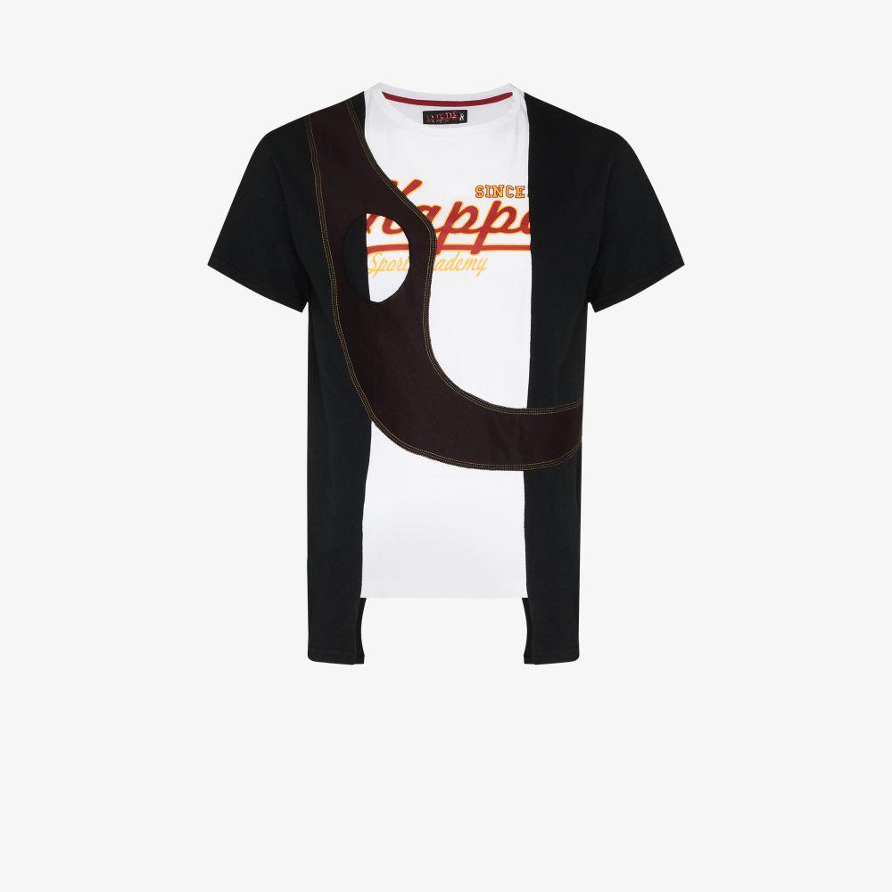 X Browns Focus Sash Panel Cotton T-Shirt