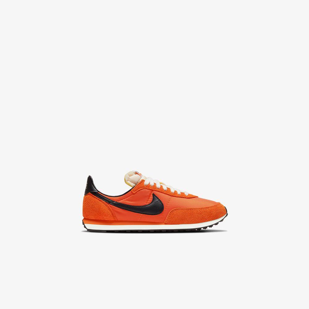 Nike ORANGE WAFFLE 2 LACE-UP SNEAKERS