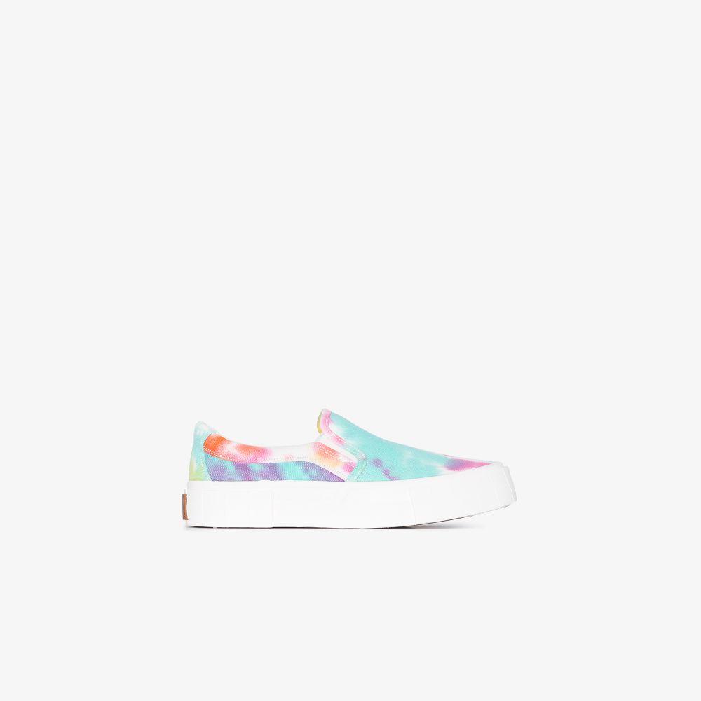 Multicoloured Yess Tie-Dye Sneakers