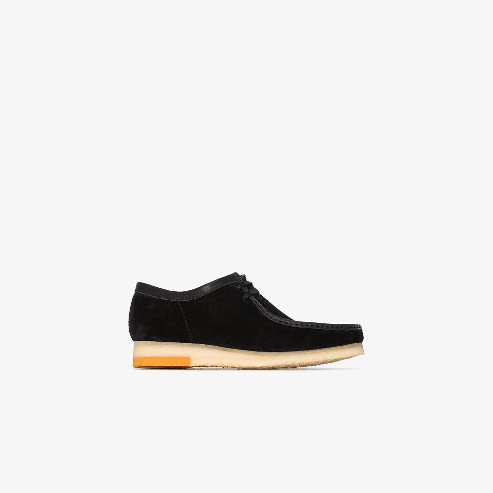 Clarks Originals Shoes BLACK WALLABEE SUEDE SHOES