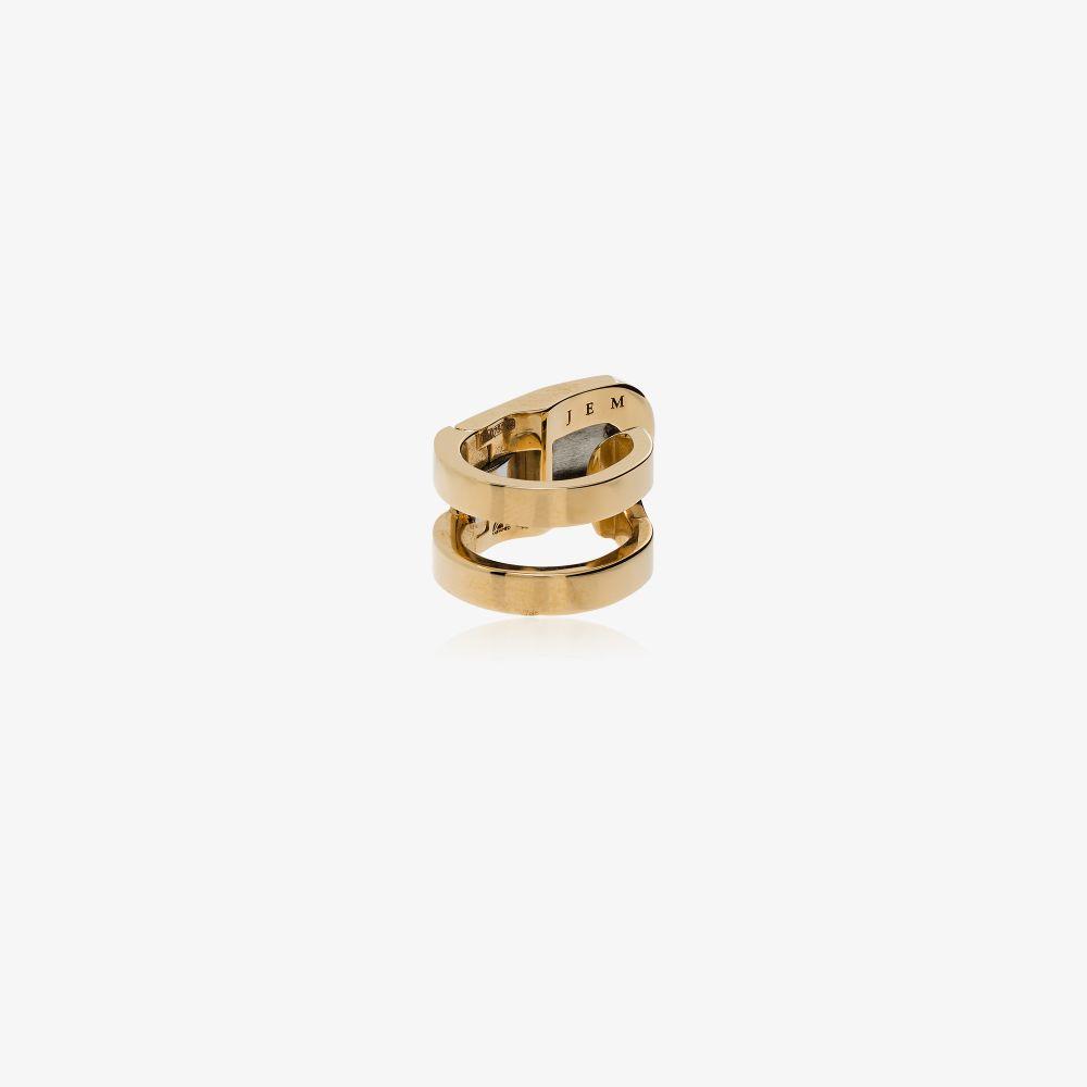 18K Yellow Gold Étreintes Ear Cuff