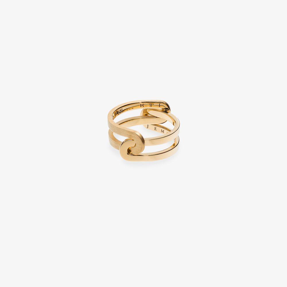 18K Yellow Gold Étreintes Ring