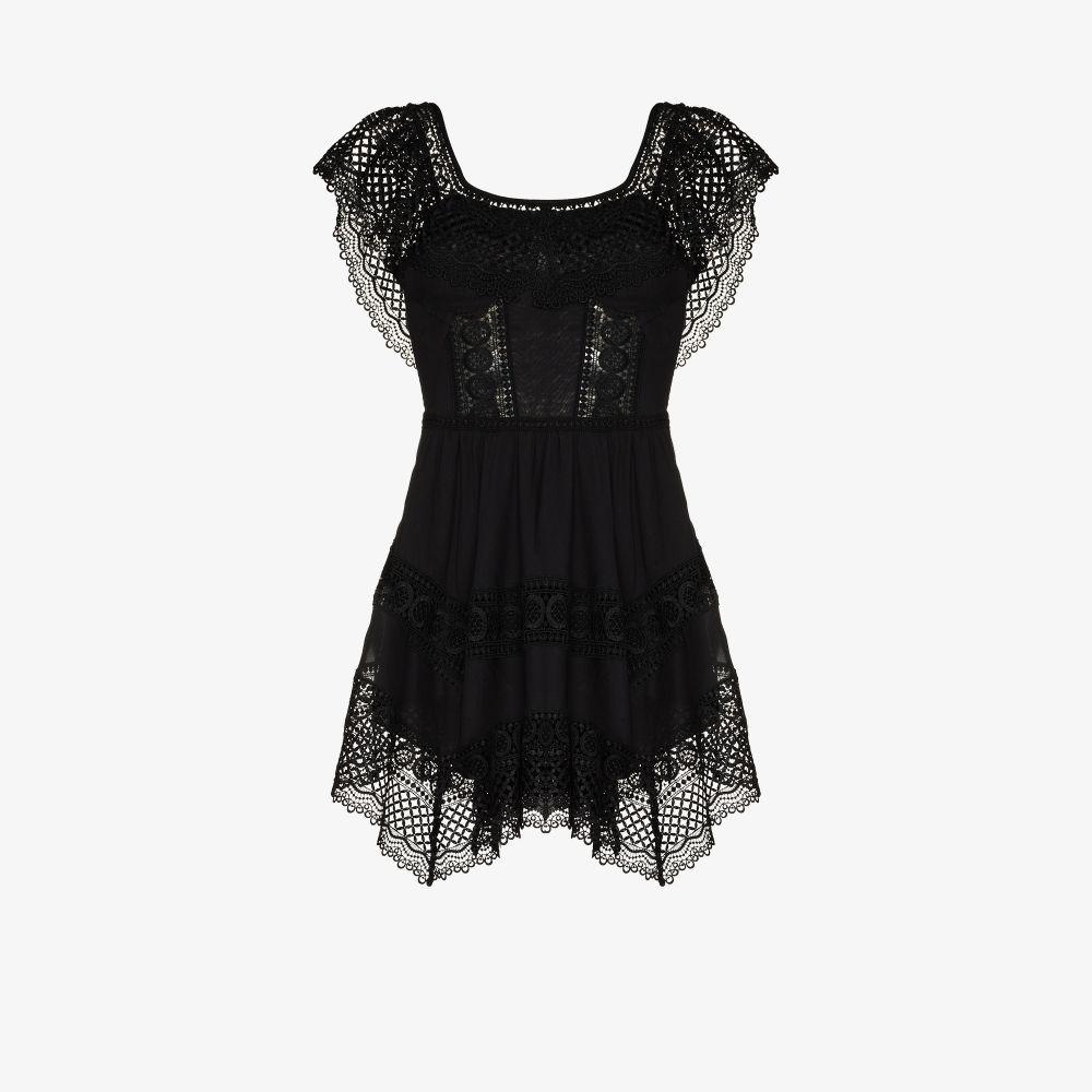 Vaiana Off-The-Shoulder Mini Dress