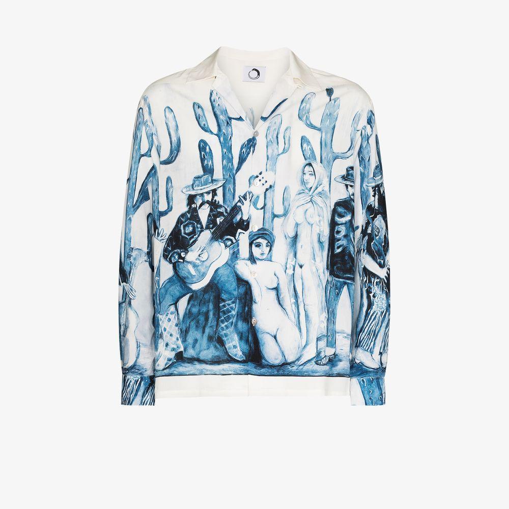 Graphic-Print Shirt