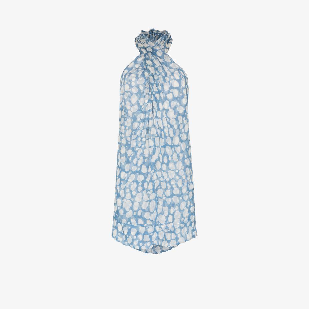 Beniras Printed Silk Dress