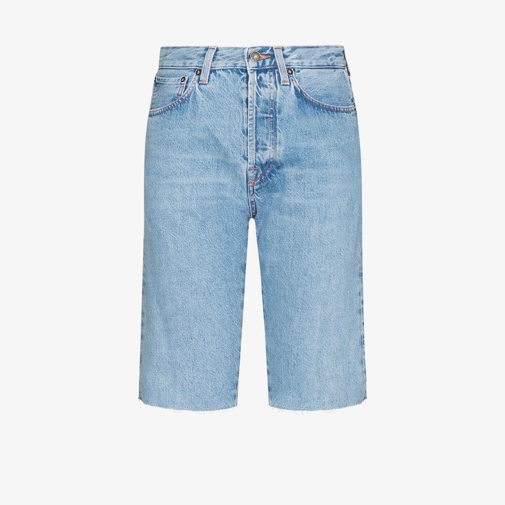 Victoria Denim Bermuda Shorts