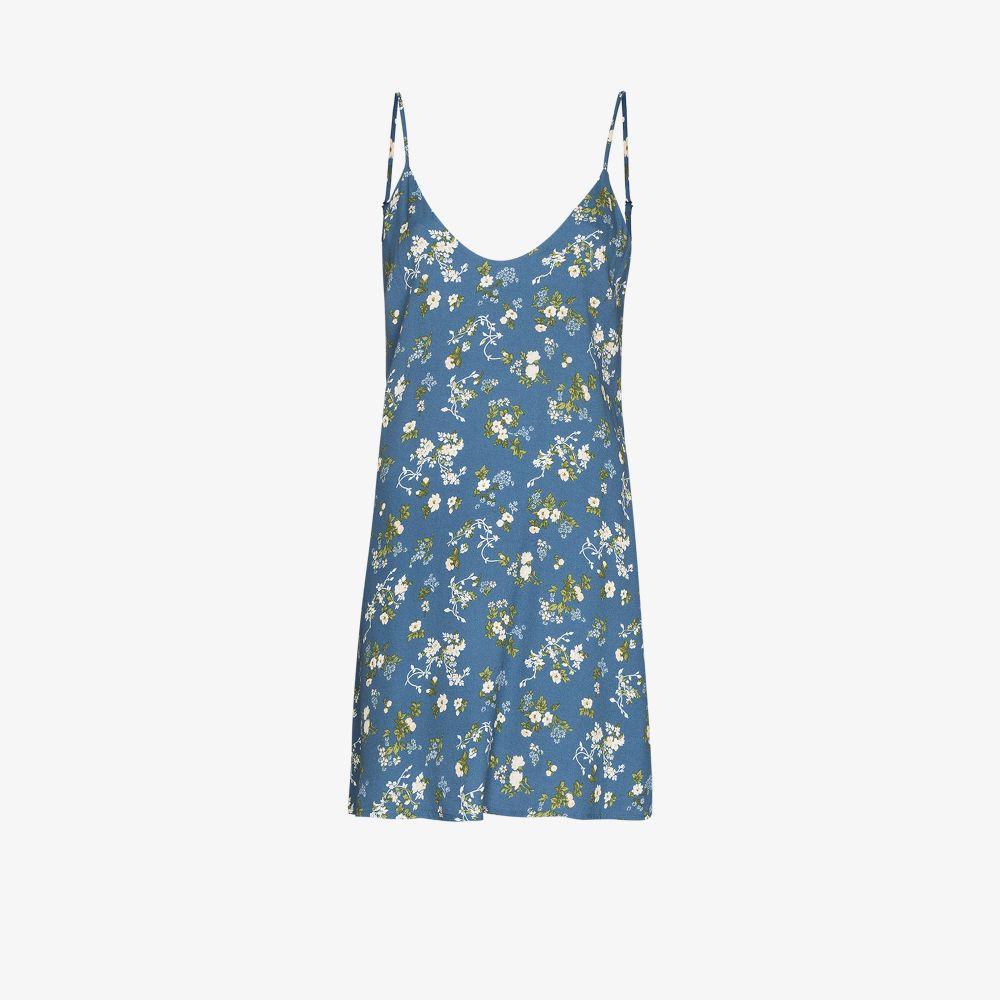 Reformation Mini dresses BLUE VENTURA FLORAL PRINT MINI DRESS