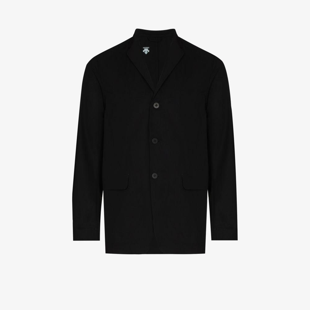 Black Packable Blazer Jacket