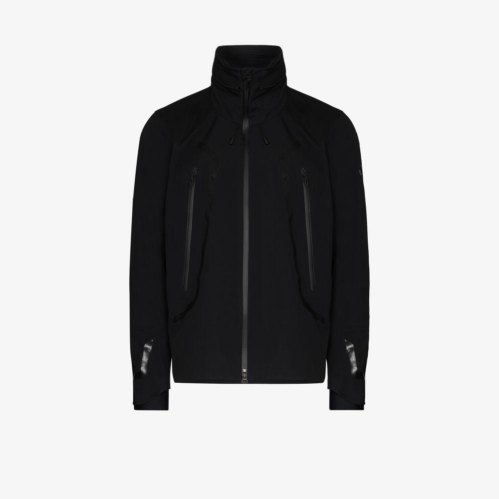 Black Airy Hooded Jacket