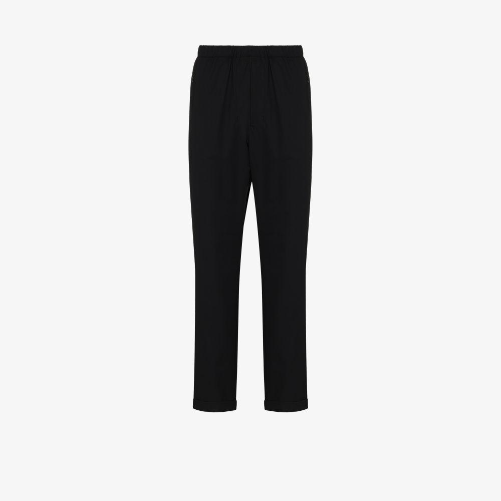 Black Packable Trousers