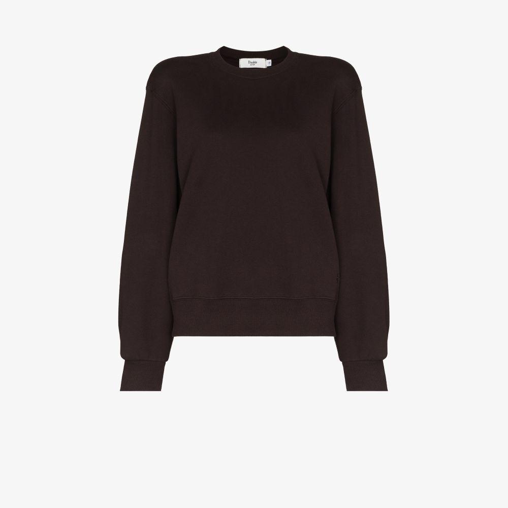 Vanessa Padded Shoulder Sweatshirt