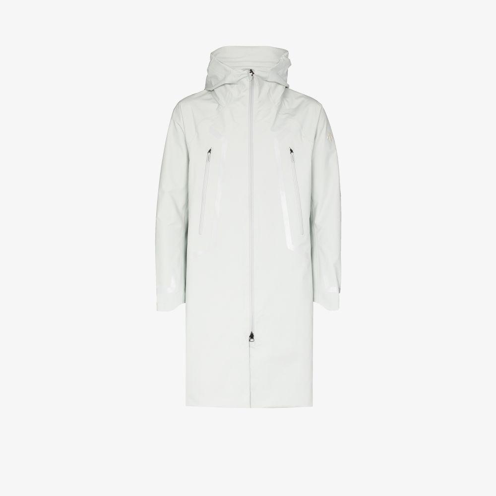 Grey GORETEX PRO X-TREME Hooded Coat
