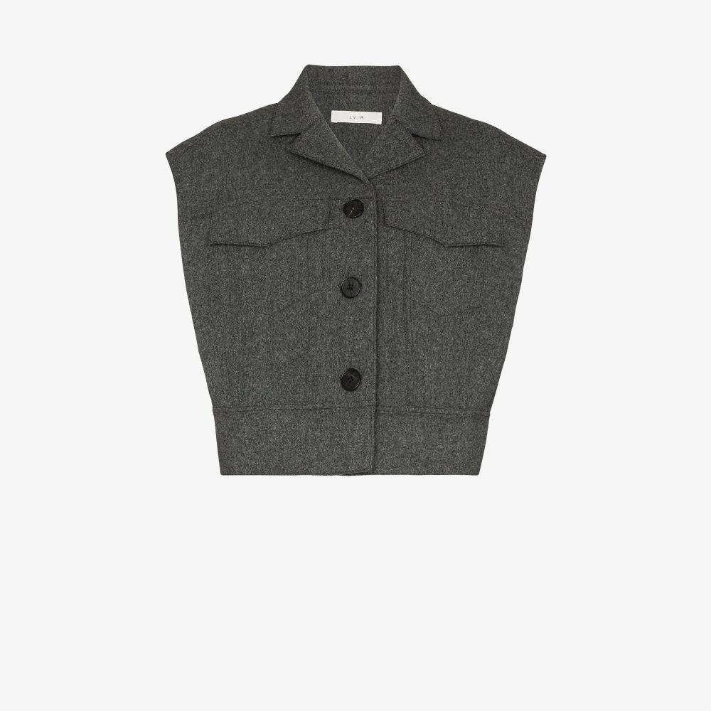 Button-Down Wool Vest