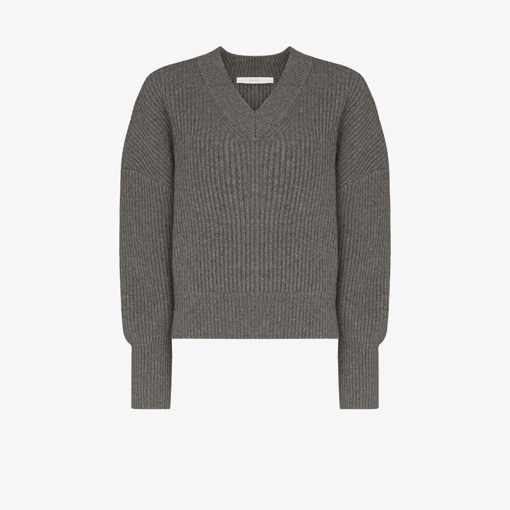 Puff Sleeve Wool Sweater