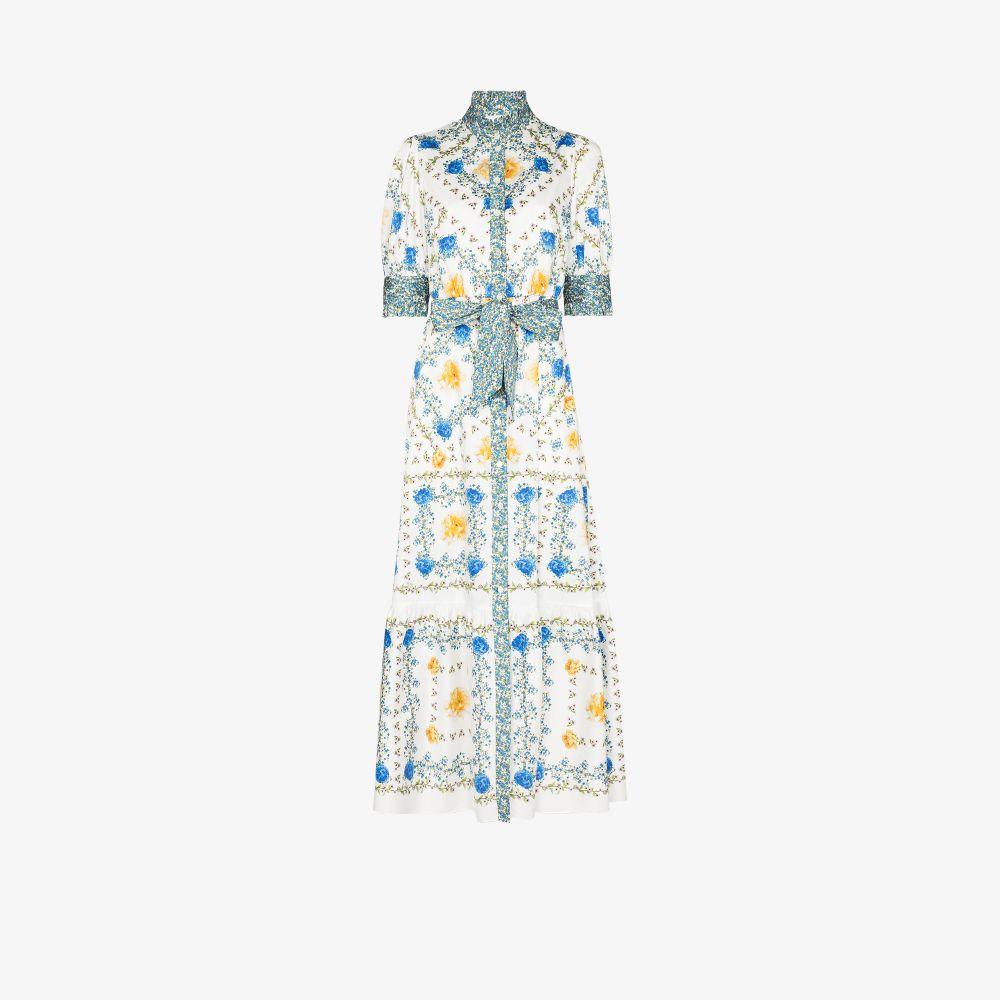 Marni Floral Print Maxi Dress