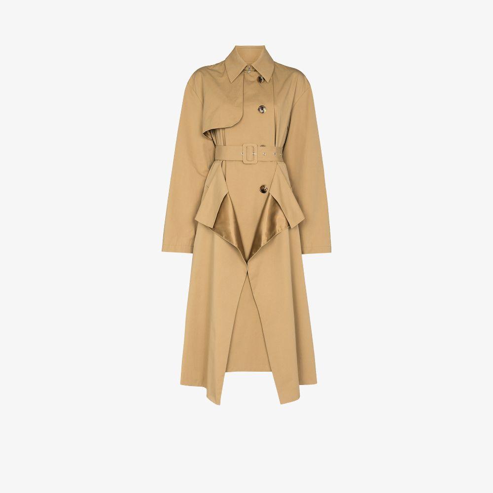 Layered Trench Coat