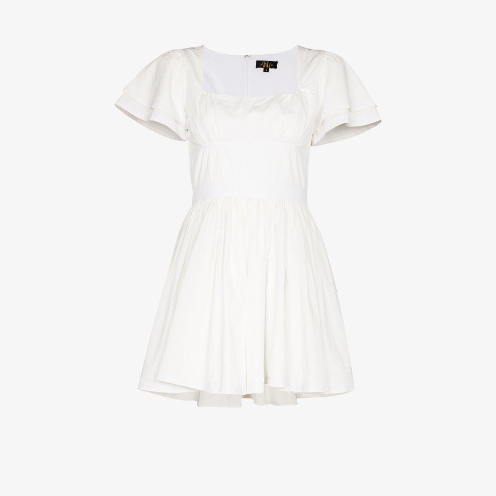 Chiquila Puff Sleeve Mini Dress