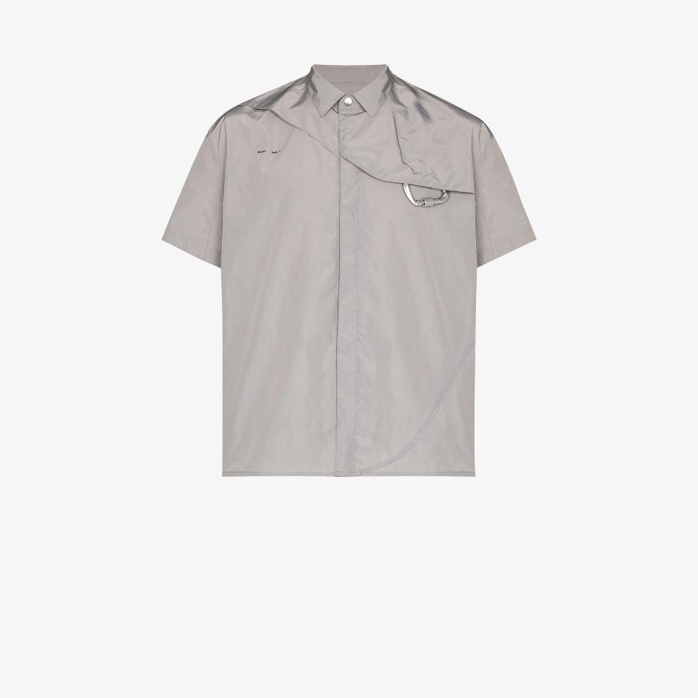 Carabiner Detail Short Sleeve Shirt