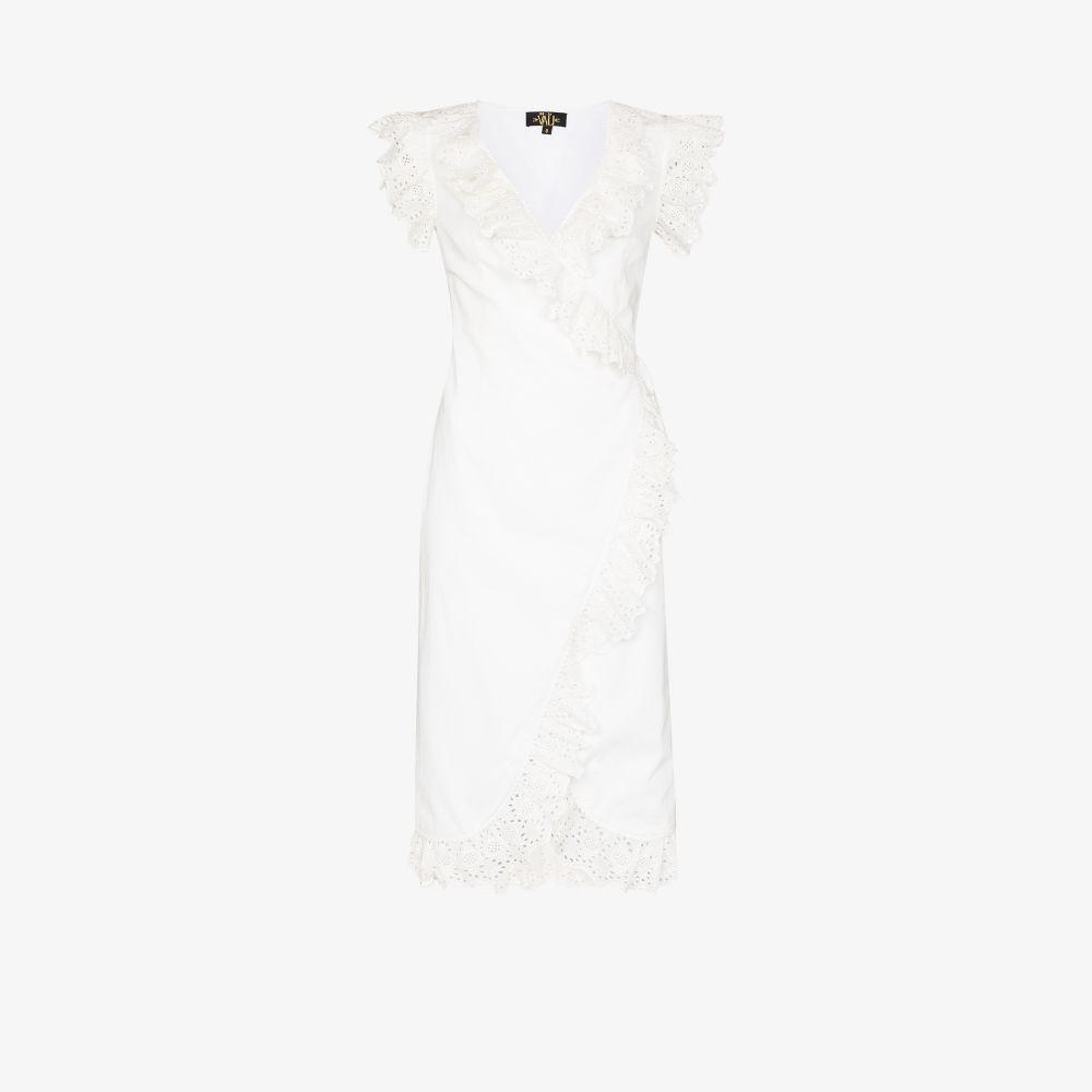 Cadaques Ruffle Midi Dress