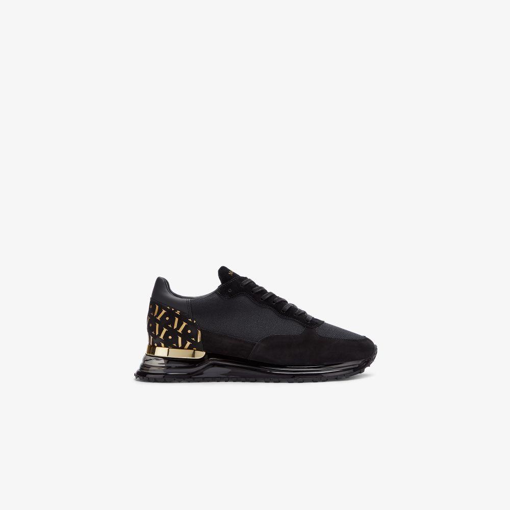 Black Popham Gas Gold Sneakers