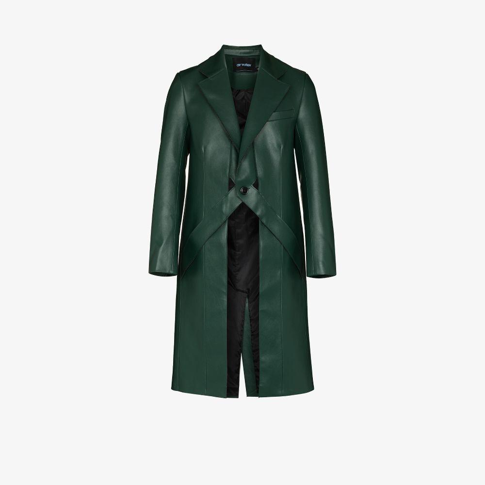 Jukebox Jury Faux Leather Coat