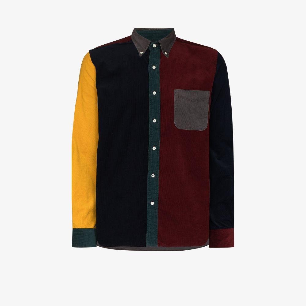Patchwork Corduroy Shirt