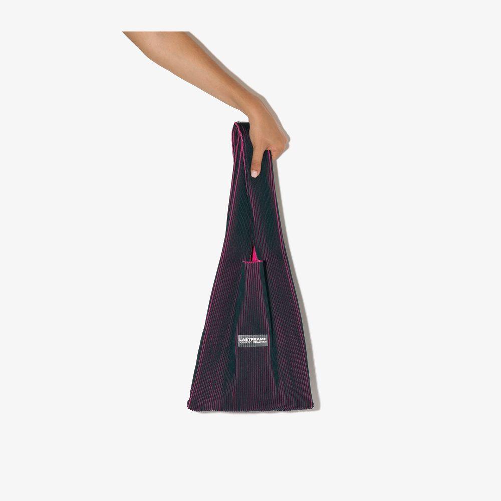 Green And Pink Medium Tote Bag